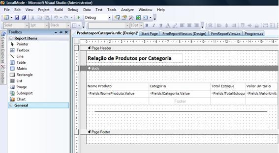 Explorando Microsoft SQL Reporting Services – Parte 02