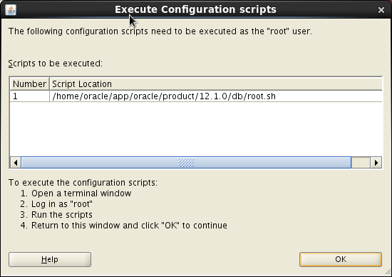 Screenshot-Execute Configuration scripts