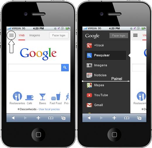 O Widget Panel Da JQuery Mobile