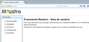 Maestro Framework