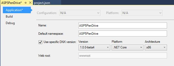 Figura 7 – Plataforma .NET Core