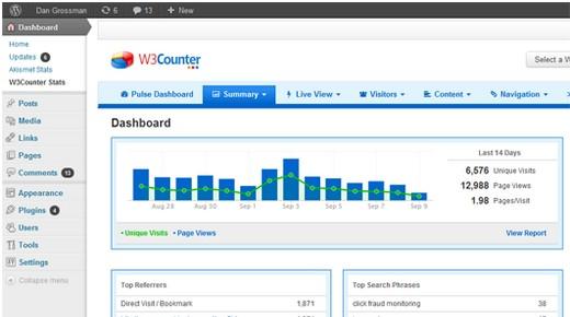 free statistics plugins for wordpress 6 - 10 melhores plugins de estatísticas gratuitos para WordPress