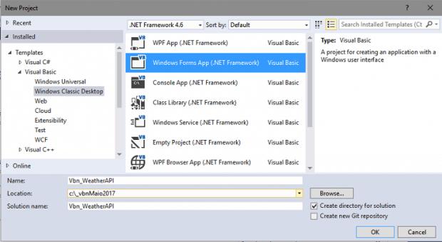 VB  NET – Consumindo um Web Service JSON – previsão do tempo   iMasters