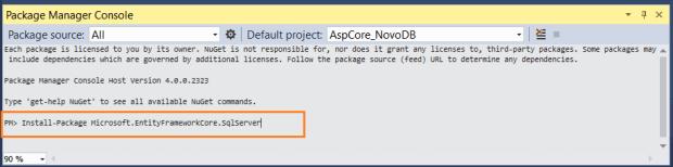 ASP  NET Core – Acessando dados com Entity Framework Core e