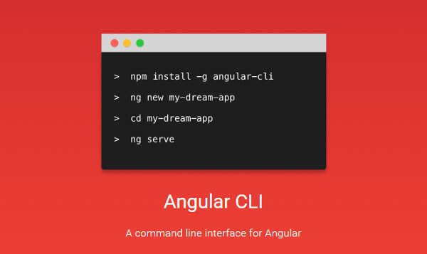 Angular Cli Scaffold