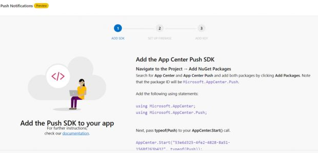 Xamarin Forms – Push Notification no App Center   iMasters