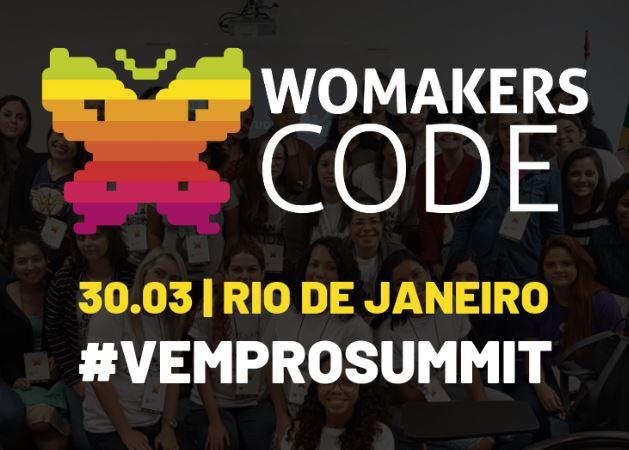 Rio de Janeiro terá WoMakersCode Summit no fim de março