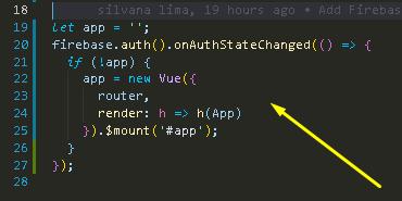 Criando uma aplicação Vue js com o sistema de autenticação Firebase