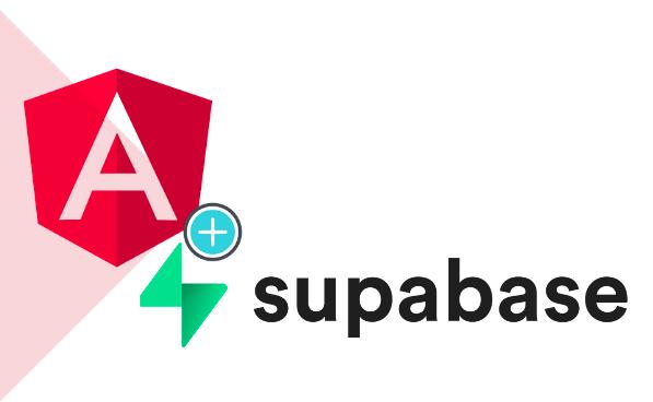 imagem logotipo Supabase e Angular